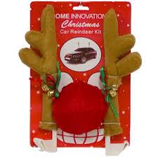 reindeer ears for car car reindeer kit christmas all year