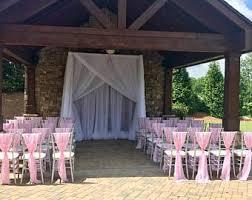 Chair Sashes For Weddings Chiffon Chair Sash Etsy