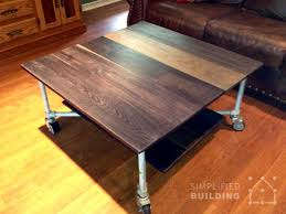 Pipe Coffee Table by 51 Diy Table Ideas Built With Pipe Simplified Building