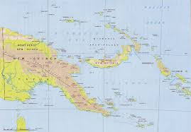 Guadalcanal Map Chapter 4 Clearing Of Papua