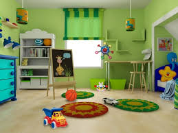 green paint color for white furniture in kids bedroom rectangular