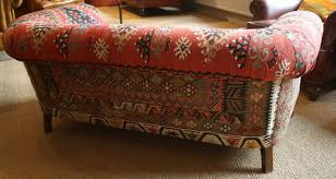 Antique Chesterfield Sofas by Leather Chairs Of Bath Kilim Antique 2 Seater Chesterfield