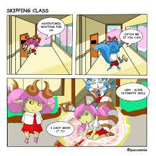 aov wallpaper skipping class aov ml fanart by pucceenie on deviantart