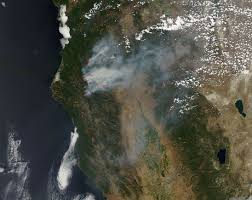Ca Wildfire Containment by Smoke Still Rising From California U0027s Fires Nasa