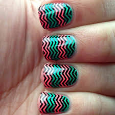 line nail designs white and gold lines design with gel nails