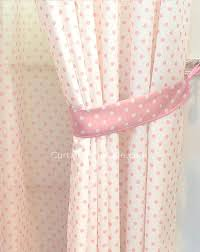 Ruffled Pink Curtains Pink And White Polka Dot Blackout Curtains Glif Org