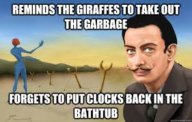 Funny Salvadorian Memes - scumbag salvador dali memes quickmeme