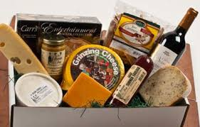 wine and cheese gifts cheese basket swiss cheeses