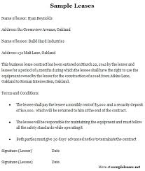 sample letter of intent to lease commercial space 48 hour notice