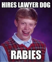 Dog Lawyer Meme - image 287436 lawyer dog know your meme