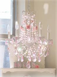 Childrens Pink Chandelier Pink Mini Chandelier Tadpoles Three Bulb Chandelier