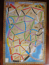 Map Note Mark U0027s Wargaming And Boardgaming Blog Ticket To Ride Africa And