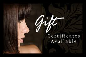 salon gift cards shannon and company gift cards