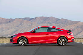 honda civic 2017 coupe 2017 honda civic si first drive review automobile magazine