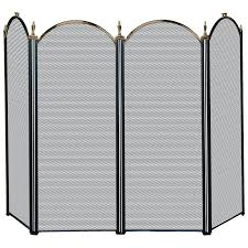 fireplace spark screen mesh curtains usrmanual com