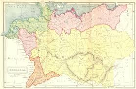 germania map germany germania 1908 map