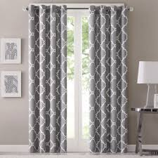 108 In Blackout Curtains by Bathroom Design Pattern 108 Inch Curtains With Table Lamp And