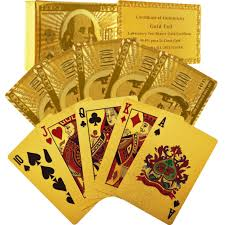 money cards made of money gold 100 cards