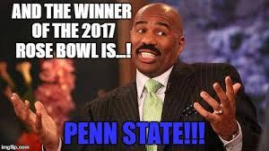 Penn State Memes - rose bowl game 2017 imgflip