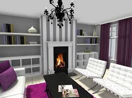 Purple Bedroom Feature Wall - create a living room feature wall aecagra org