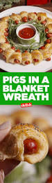 pigs in a blanket wreath recipe christmas eve wreaths and blanket