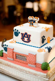 212 best auburn cakes images on pinterest auburn cake groom
