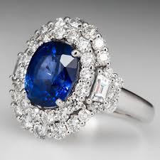 diamond rings sapphire images 4 carat blue sapphire ring jpg