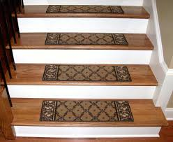 washable carpet stair treads trellis beige