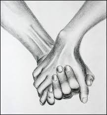 gallery pencil drawing holding hands drawing art gallery