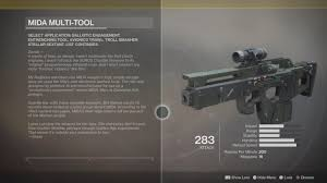 destiny 2 exotic weapon guide how to obtain mida multi tool