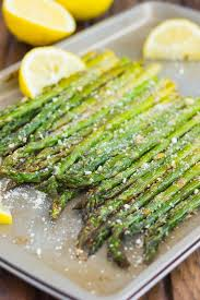 Asparagus Dishes Main Course - this roasted lemon parmesan asparagus is a simple and easy side