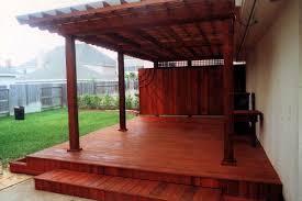 sealing a new deck decks u0026 fencing contractor talk
