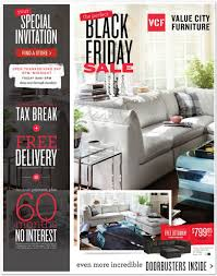 Furniture Sale Thanksgiving Value City Furniture 2015 Black Friday Ad Black Friday Archive