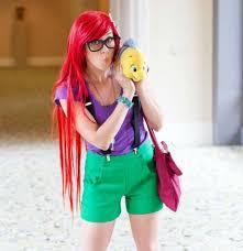 Princess Ariel Halloween Costume 25 Hipster Ariel Ideas Hipster Princess Punk