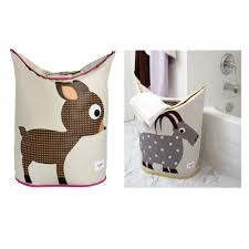 Laundry Hamper Australia by 3 Sprouts Laundry Hamper Pink Deer Urbanbaby