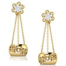 gold earrings jhumka design 17 beautiful traditional gold jhumka designs