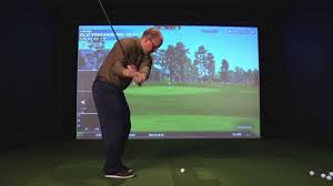 golf simulator home theater indoor golf simulator clarity sound design and vision plymouth