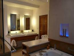 bathroom cabinets add lighting fixture on bathroom mirror