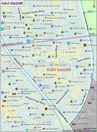 g map kavi nagar locality map ghaziabad