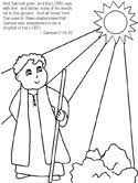 Hannah Samuel Coloring Pages Samuel Coloring Pages