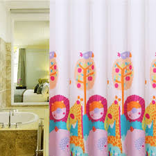 Kids Bathroom Shower Curtain Bathroom Exquisite Awesome Shower Curtain Funny Cute Baby Cozy