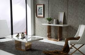 console tables accessories light wooden flooring gray sofa dark