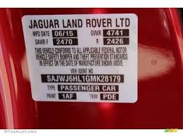 2016 f type color code 1af for italian racing red metallic photo
