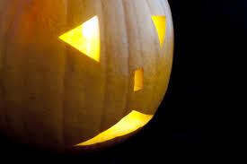 image of sad jack o lantern creepyhalloweenimages