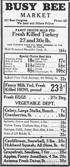 31 thanksgiving grocery ads from tucson s past news about tucson