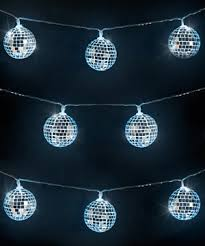 mirror string lights mini disco balls that light up