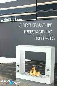 free standing ethanol fireplace reviews belmont freestanding bio