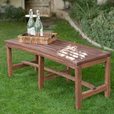 Modern Outdoor Wood Bench by Bench Backless Wooden Bench Abounding Outdoor Garden Benches