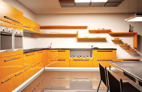 Minimalist Orange Kitchen Cabinet  Ideas Decorate Orange Kitchen - Orange kitchen cabinets