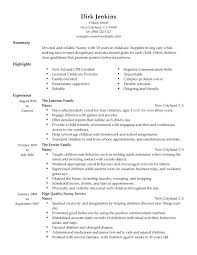 nanny resume template nanny resume template sle cover letter for nanny nanny and